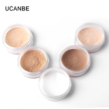 UCANBE brand White Banana natural loose powder professional bare mineral face foundation powder moisture oil free makeup(China)