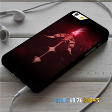 Vayne Crossbow Logo Red League of Legends  fashion case cover for iphone 4 4S 5C 5 5S SE 6 6S 6 plus 6s plus 7 7 Plus &ff76
