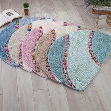Fade Resistance Easy Clean Wearproof Bath Mat Bathroom Rug Mat Set Carpet Floor Rug Toilet Mats Non-slip Floor Carpet Set