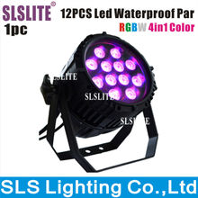 High quality wedding stage light 12pcs 10w RGBW 4in1 mini waterproof par light outdoor led par light equipment