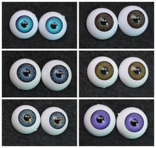 20MM aod dod sd bjd doll Half Round Acrylic Eyes Plastic eyeball eyesball Y08 Y09 Y10 Y11 Y12 Y13(China)