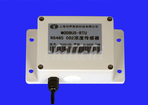Air Conditioner Parts Co2 Sensor Transducer Carbon Dioxide Sensor For Monitoring Concentration Of Agricultural Greenhouse Rs485 Modbus Air Conditioning Appliance Parts