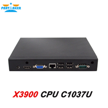 Partaker X3900 Linux Mini PC With mini-PCIE Port Celeron1037U Dual Core 1.8GHz Processor