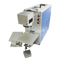LY 1010 20w optical fiber laser marking machine laser marker machine for metal,wood,pvc,plastic, EU country free tax