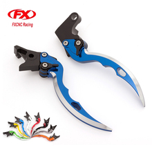 FX Aluminum Blade Knife Motorcycle Brake Clutch Levers For Yamaha YFM 700 Raptor 700R YFM700 2007 - 2017 2008 2009 10 11 12 13(China)