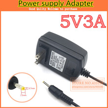 AC/DC 5V3A adapter Power Supply  for Quad Core Tablet Ampe A10 Ainol Hero II Spark Sanei N10 Ramos W30HD Pro T7s T10s  M9