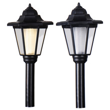 2pcs Led Solar light Outdoor Solar lights lamp Power LED Path Way Wall Landscape Mount Garden Yard Fence Lamp Light solar light