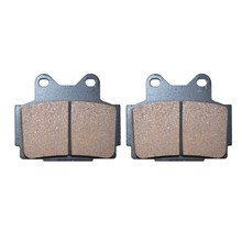 Motorcycle Parts Rear Brake Pads For YAMAHA FZ400 FZ 400 1985 1996 Motor Brake Disk# FA104
