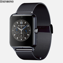 Senbono Bluetooth Smart Watch SBN Z50 Support SIM TF Card Wearable Devices SmartWatch whatsapp facebook twitter Notification