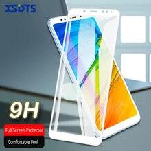 XSDTS Tempered Glass Xiaomi Redmi 4X Note 5 Pro 6 A1 A2 Lite 5X 6X Pocophone F1 Screen Protector Full Cover Glass Film