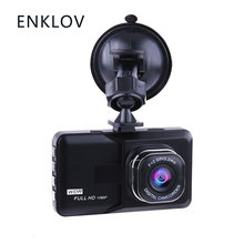 ENKLOV Car Dash Camera Driving Video Recorder With 1080P Wide Angle Driving Recorder(China)