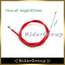 Red Gas Throttle Cable For 2 Stroke 43cc 47c 49cc Engine Carburetor Carb Chinese Kids ATV Mini Moto Quad Dirt Super Pocket Bike