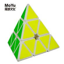 MoYu Magnetic Pyramid Pyraminx 3x3x3 Magic Cube Speed Cube Puzzle cubo magico Learning Education Toys For Children Kids Gifts(China)