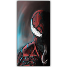 Carnage Spider Man DC Comics Superhero Poster Image For Home Decoration Silk Canvas Fabric Print Poster Wallpape DY1034(China)