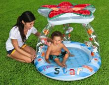 INTEX Kids Inflatable Swim Pool Funny Floats Toys Air Mattress Infants Courtyard Swim Rings Ring Swimming Pool Accessories(China)