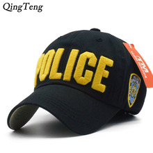 Hot Children Police Baseball Cap Kids Boys Girls Snapback Hats Casual Cotton Letter Sports Caps Adjustable Hip Hop Sun Caps(China)