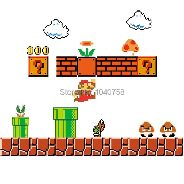 Mario bros decals for walls
