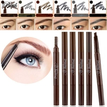Bittb 1Pcs Waterproof Eyebrow Pencil Enhancer Brush Auto Long Lasting Eye Brow Pen Make Up Tool Permanent Eyebrow Paint Pencil(China)
