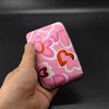 Buy Cute Metal Rfid Blocking Women Card Holder Credit ID Case Card Wallet Business porte carte Travel bank Cardholder Girls card pr for $2.80 in AliExpress store