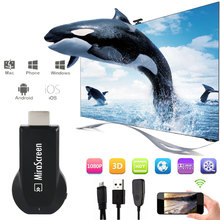 OTA Android TV Stick Mirascreen DLNA Airplay WiFi Display Miracast TV Dongle Wireless Connectivity HDMI Full HD 1080P Receiver