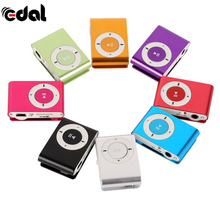 EDAL 8 Colors Protable Mini Mp3 Music Player Mp3 Player Support Micro TFCard Slot USB MP3 Sport Player USB Port With Earphone
