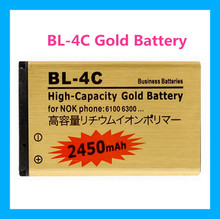 High capacity 2450mAh BL-4C Li-ion Replacement Battery For Nokia 2652 3108 6100 6170 6260 7270 6101 6102 Replacement Batteries(China)
