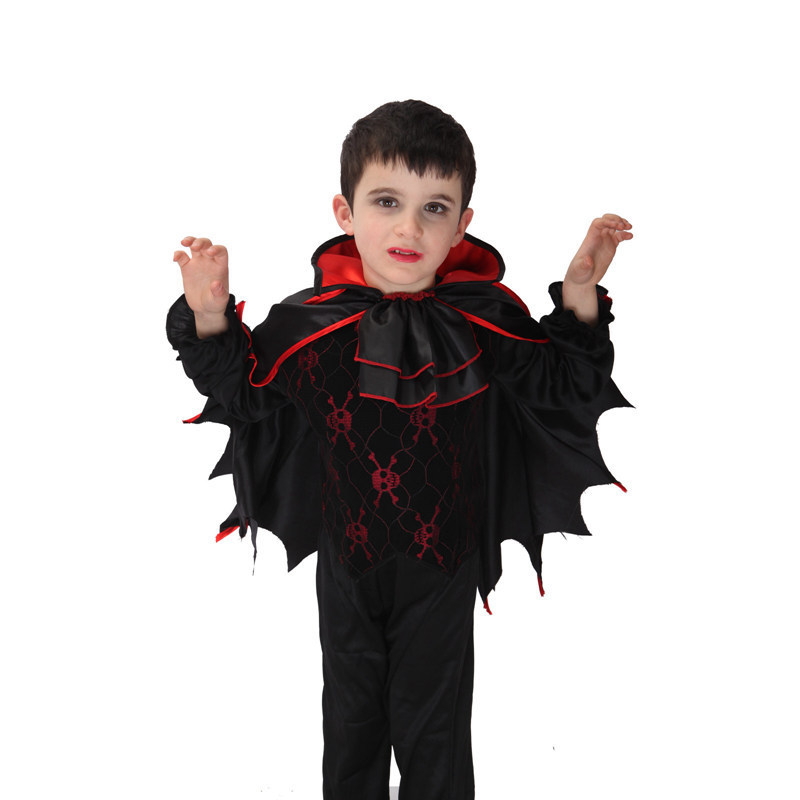 2017 Hot sale high quanlity Retail New Halloween vampire halloween costumes for kids boys costumes 3 pcs sets gift<br><br>Aliexpress