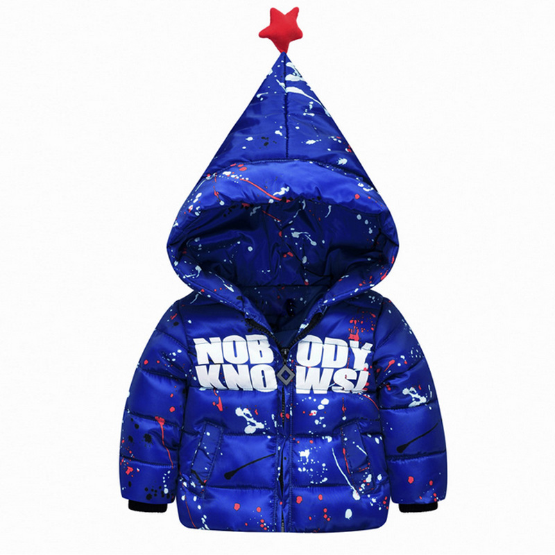 High Quality New Fashion Design Winter Jackets Boys Letters Printed Coat Zipper Hooded Handsome Boys Down Coat Thicken JacketОдежда и ак�е��уары<br><br><br>Aliexpress