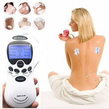 health care slimming body acupuncture electric tens unit physical therapy massager with 4 electrotherapy stimulation electrode