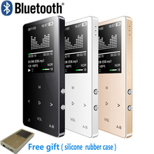 Original Metal touch screen Bluetooth MP3 Player 8GB Built-in Loud Speaker mini Music Player with FM Radio Voice Recorder E-book(China)