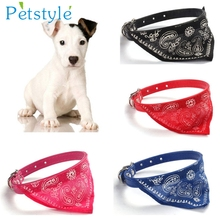 Adjustable Pet Dog Cat Puppies Collars Scarf Neckerchief Necklace Pet shop Supplies Very Cool Levert Dropship 3MAR20(China)