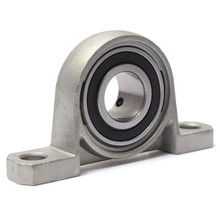 High quality UP002 bearing 15 mm caliber zinc alloy pillow block bearing housing UP002 Spherical ball bearing(China)