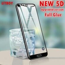 5D Full Glue Protective Tempered Glass Xiaomi Redmi 5A 4X 6A S2 Cover Screen Protector Xiaomi Redmi 5 Plus Note 5A Glass