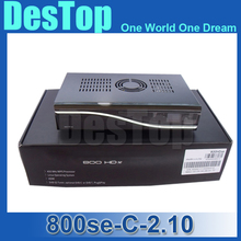 3pcs dm800 HD se with DVB-C tuner decoder DM800HD se 800se SIM2.10 800se Cable receiver 400 MHz linux system DHL free shipping(China)