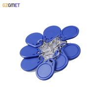 GZGMET 15 Pcs / Lot  13.56 MHZ RFID  IC Card Token Tags Key Keyfobs for Access Control Entrance Mechine