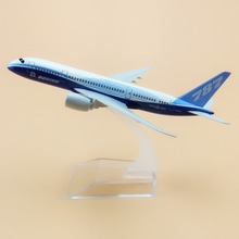 16cm Metal Prototype Air Boeing 787 B787 Airlines Plane Model ProtoMech Development Aircraft Airplane Model w Stand(China)