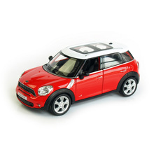 RMZ City Mini countryman Cooper 1:36 Toy Vehicles Alloy Pull Back Car Replica Authorized Original Factory Model Toys Kids Gift