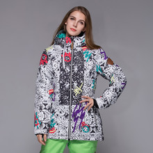 GSOU SNOW Winter Suits Outdoor Insulated Snowboard Jacket Women Ski Jacket Women Chaqueta  Mujer