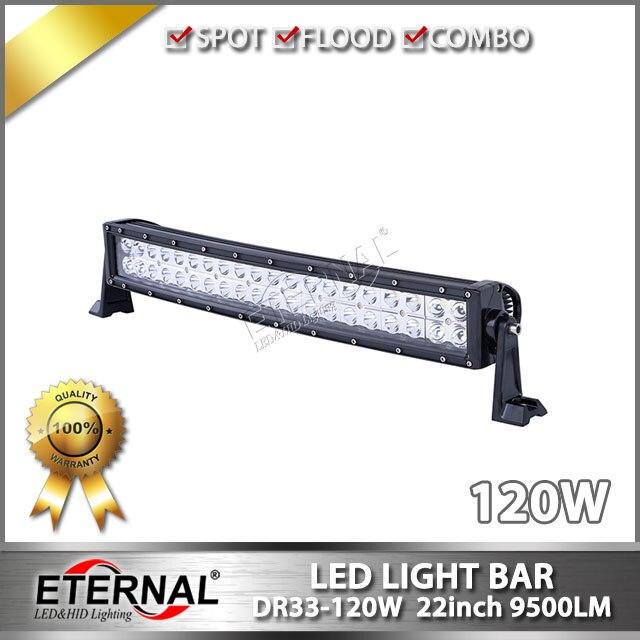 20 120W light bar curved radius led light 4x4 offroad Wrangler JK CJ TJ LJ XJ ZJ WJ truck heavy duty equipment machine tractor<br><br>Aliexpress