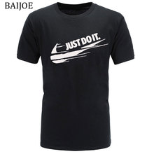 Europe Size New brand Mens t-shirts Casual clothes Funny brand t shirt men print Cotton T Shirt Mens Hip hop Skate Tshirt Tops(China)