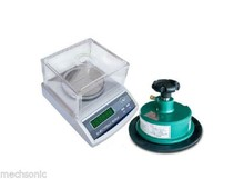 100 Sqcm Round Sample Cutter+precision electronic balance scale 600g 0.01g te(China)