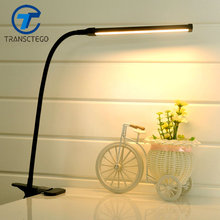 LED Clip Light Type Desk Clamp Lamp Dimming Reading eye USB Lamps Table Lights Dimmable 2 Lighting Colors
