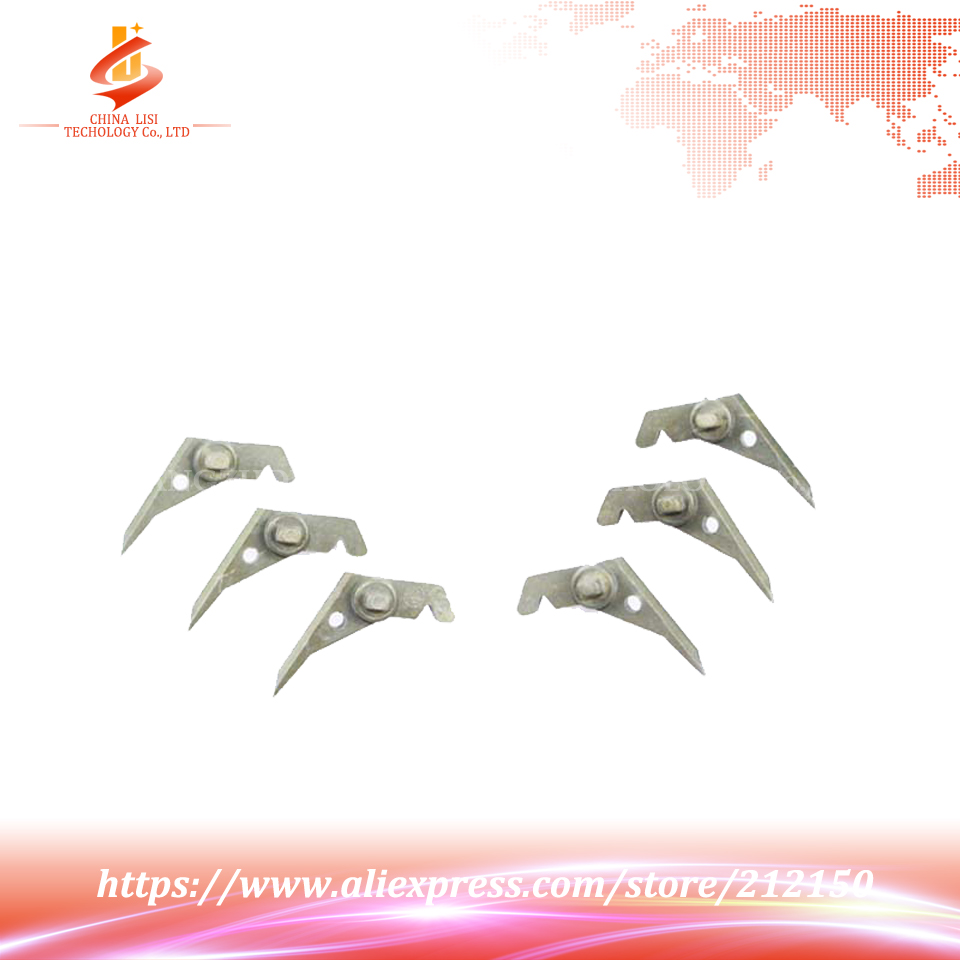 6Pcs/Set OEM New For Toshiba 520 523 550 555 600 650 655 720 723 755 810 853 850 855 856 Separation Claw Fuser Upper Roller<br><br>Aliexpress