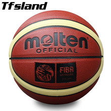 Size 7 Official New PU Leather Basketball Men Non-slip Ball Outdoor Indoor Sports Training Ballon Gym Equipment Homme Basketball(China)