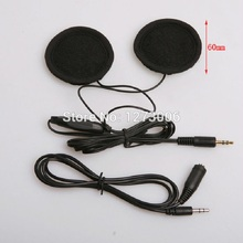 1pcs 3.5mm Motorcycle Helmet Stereo Speakers Headphones Volume Control Earphone for MP3 GPS iPod Phone Music Accessorie Hot Sale