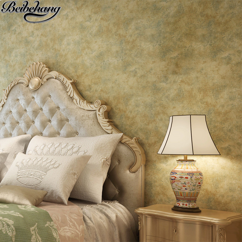 beibehang American retro plain made old wallpaper peeling the wallpaper of bedroom the head of a bed the sitting room wall paper<br>
