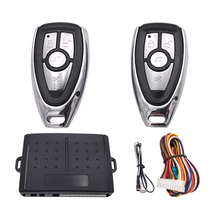 Car Alarm System 12+4 Car Auto Remote Central Kit Door Lock Locking System With Key Central Locking with Remote Control(China)