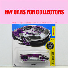 New Arrivals 2017 Hot Wheels 1:64 Purple EL Viento Metal Diecast Car Models Collection Kids Toys Vehicle For Children