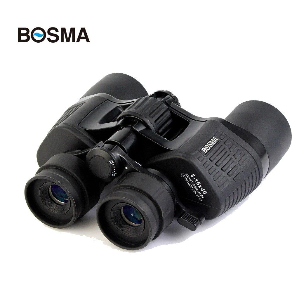 FMC BOSMA Binocular Telescope 8-16 x 40 Zoom Porro Prism Binoculars+Tripod Mount Adapter Birdwatching Telescope Hunting II W2778<br><br>Aliexpress