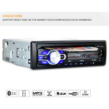 Tiptop Hot Single Din Car DVD CD Player Vehicle MP3 Stereo Radio 5014 Car-styling Retail&Wholesale Free Shipping